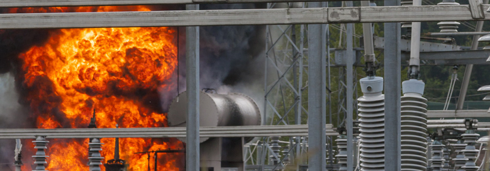 electrical facility fire